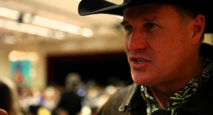 Actor Brad Johnson Saddles up with Equine VIP