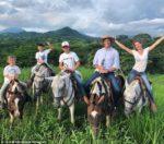 Tom Brady & Giselle Bundchen Ride the Range With Family & Horses